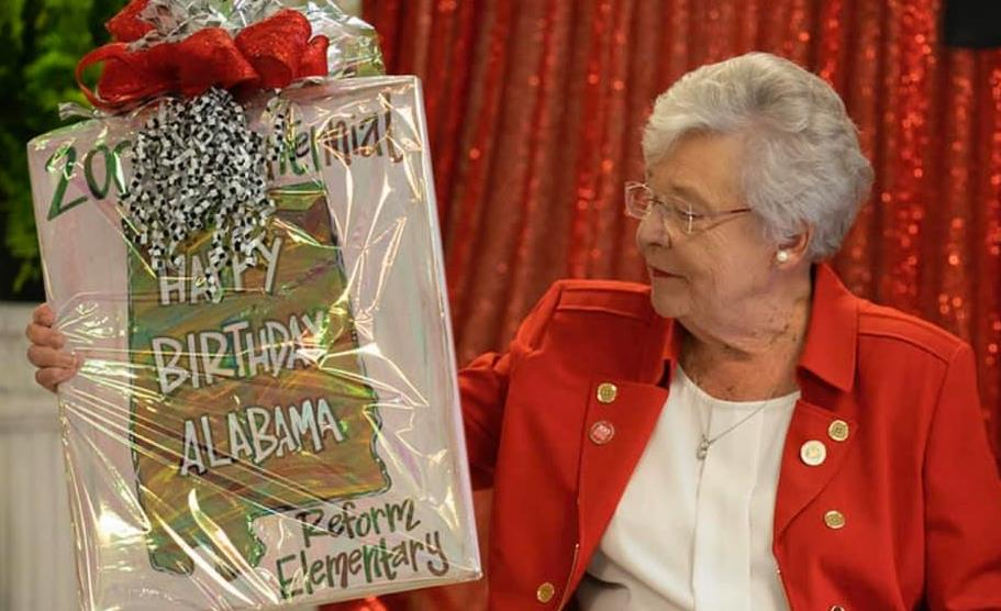 Governor Ivey and gift