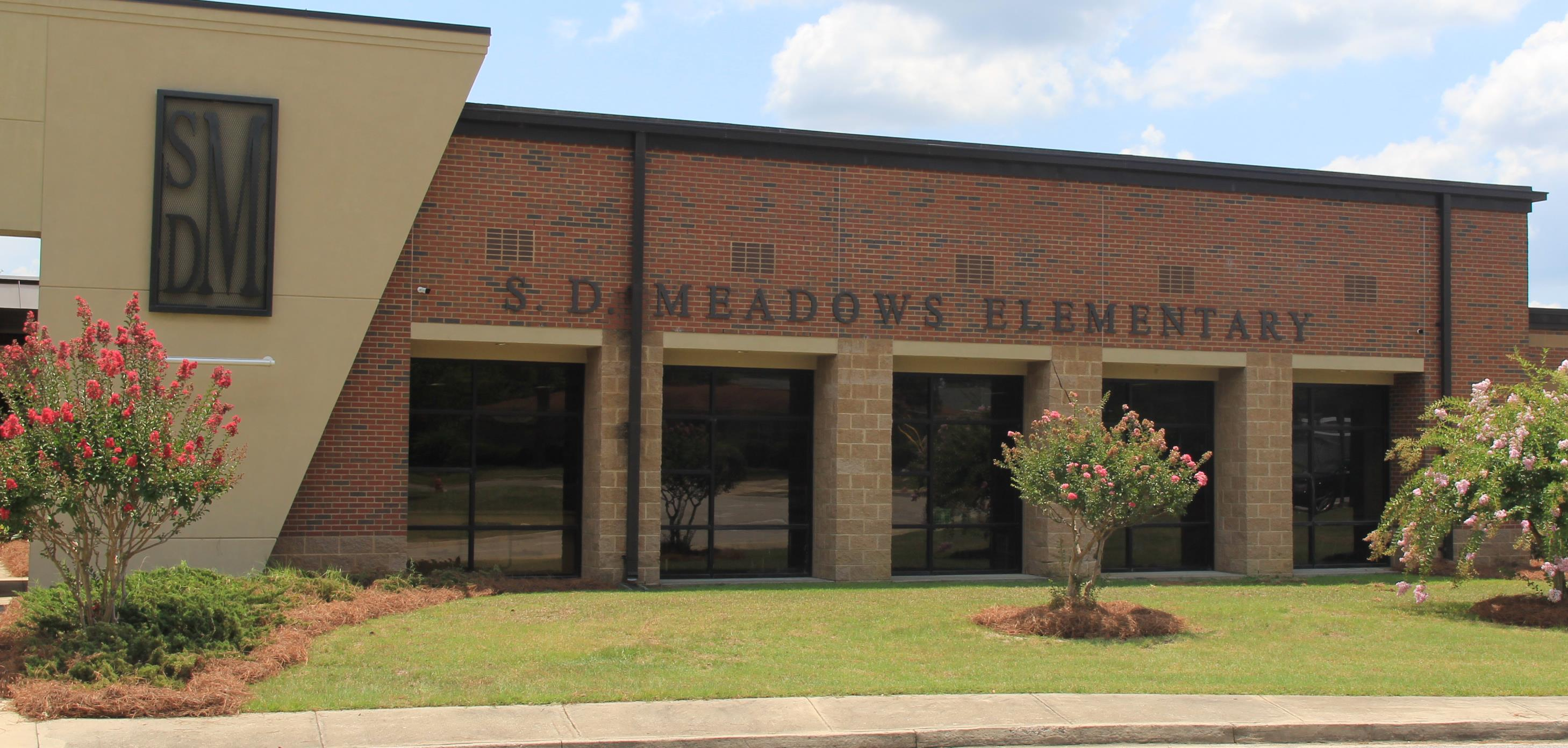Sally D. Meadows Elementary School Front