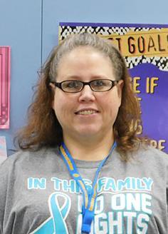 Mrs. R. Hooper, Para-Educator