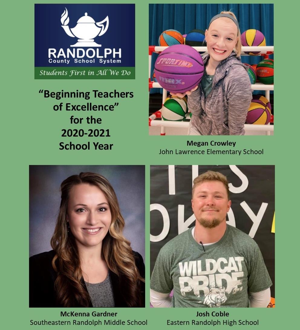 Beginning Teachers of Excellence 2020-21
