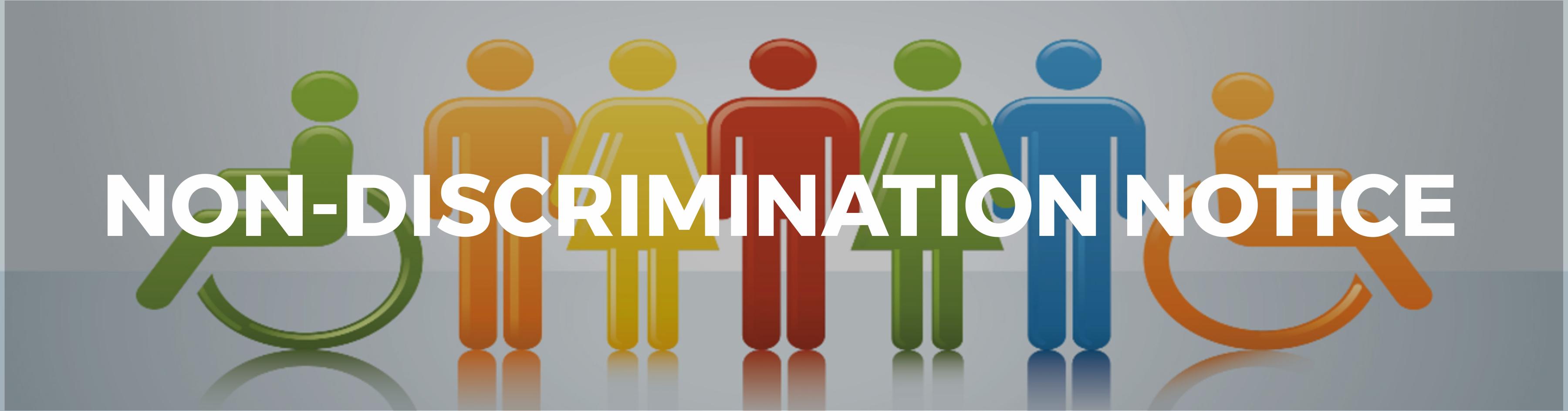 Non Discrimination Notice
