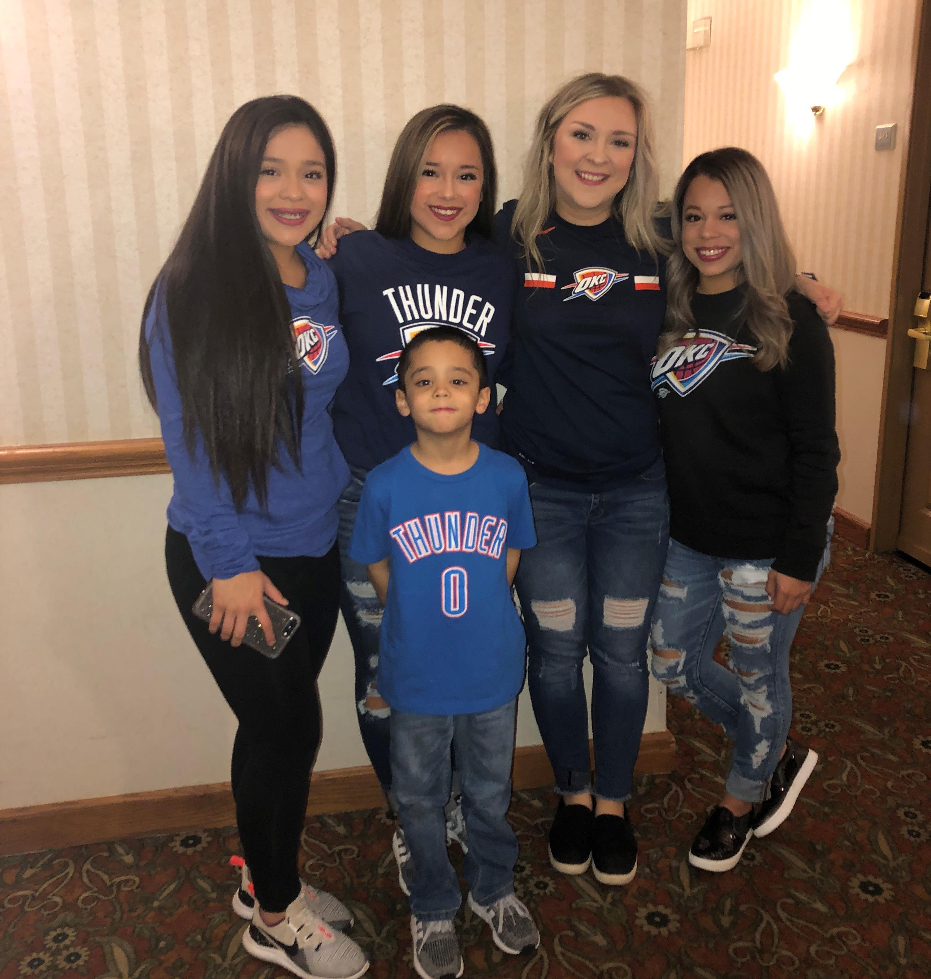 Jaemi, Maia, Bianca, Erynn & Julian