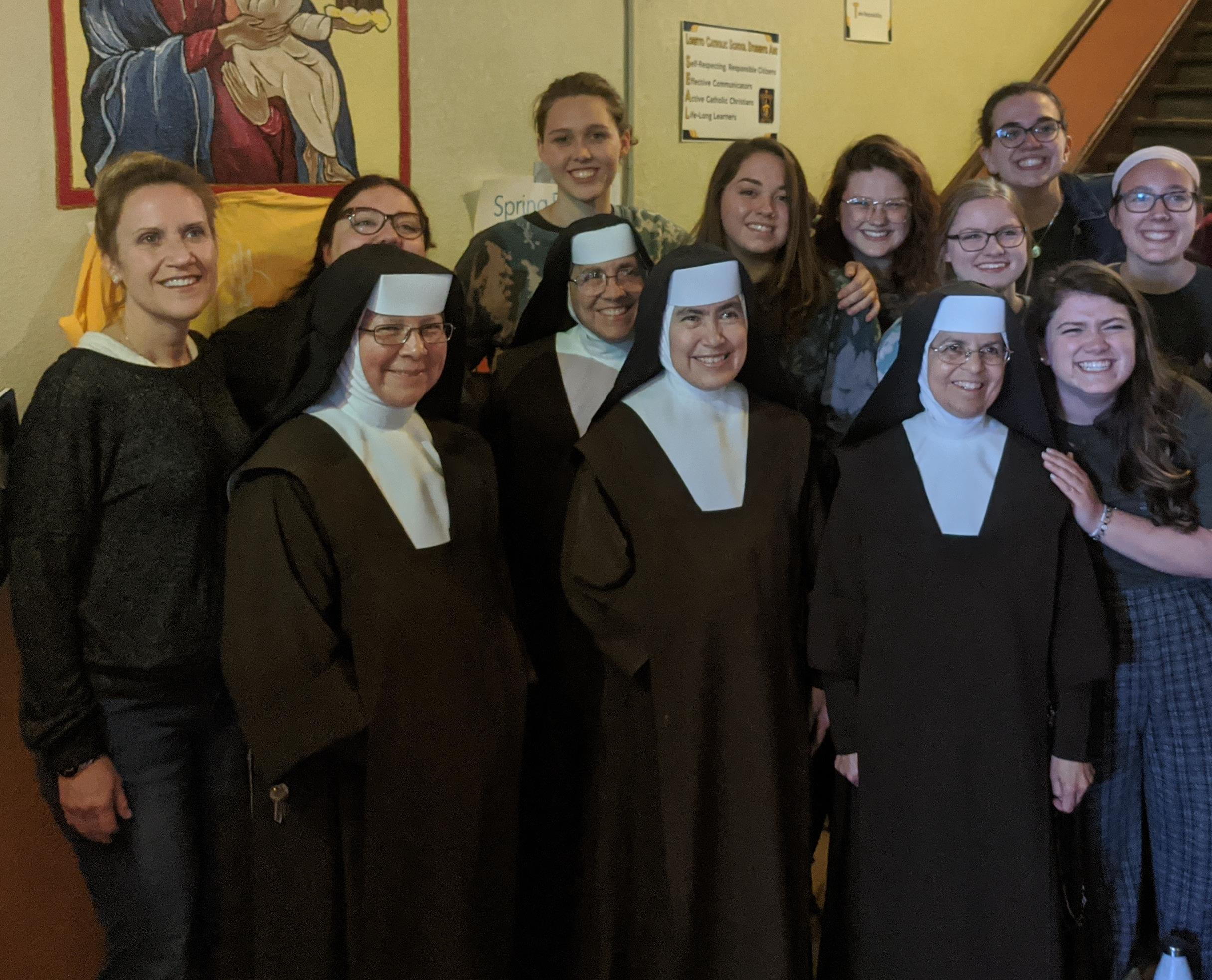 Sisters with FUS Missionaries