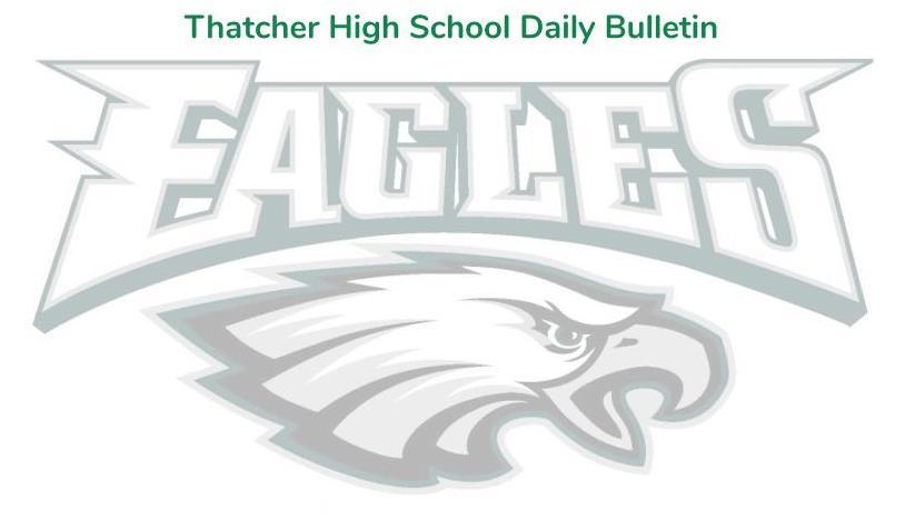 THS Daily Bulletin Letterhead