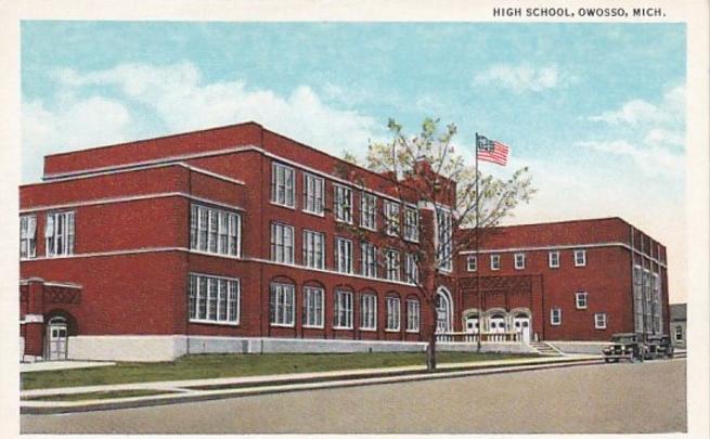 high school circa 1900