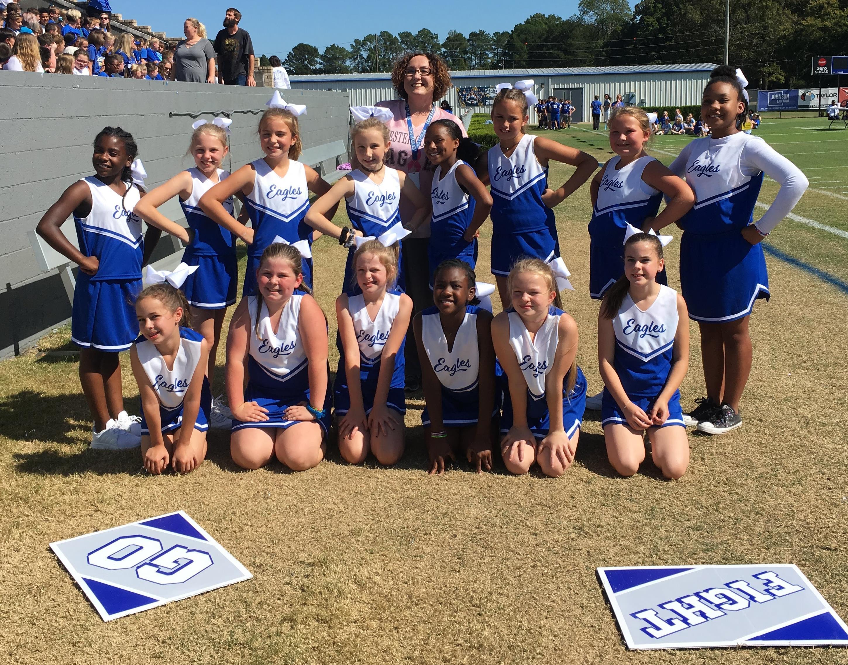 CCYFL Cheer Squad