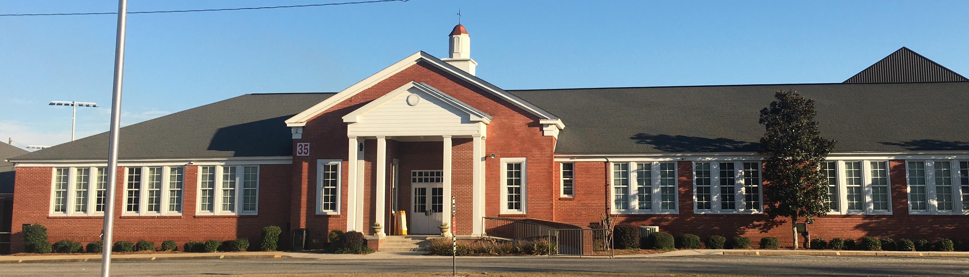 Zion Chapel High School Main Building
