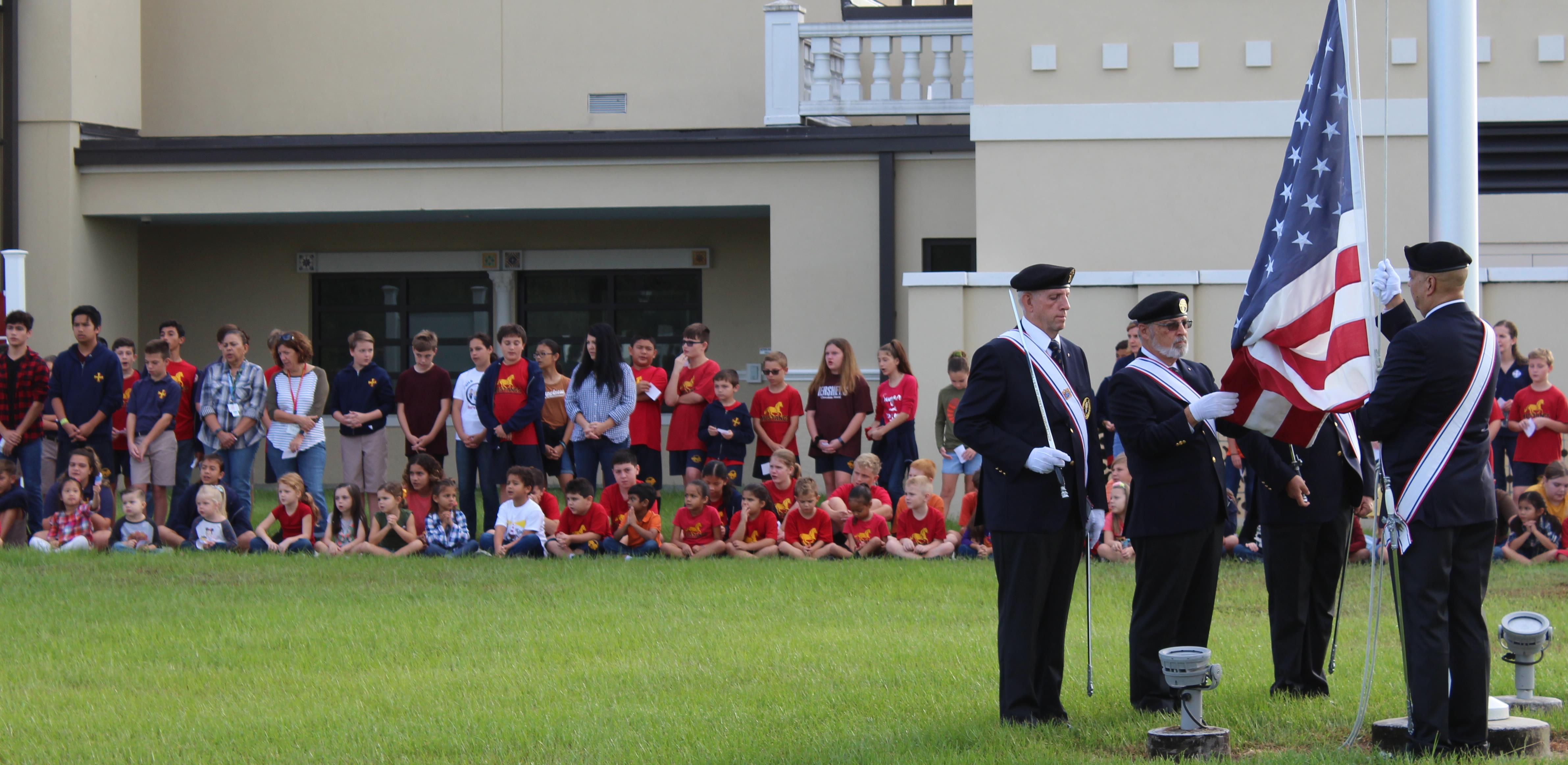 Veterans Day Flag Ceremony