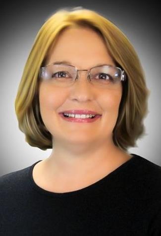 Close-up of Mrs. Cross.