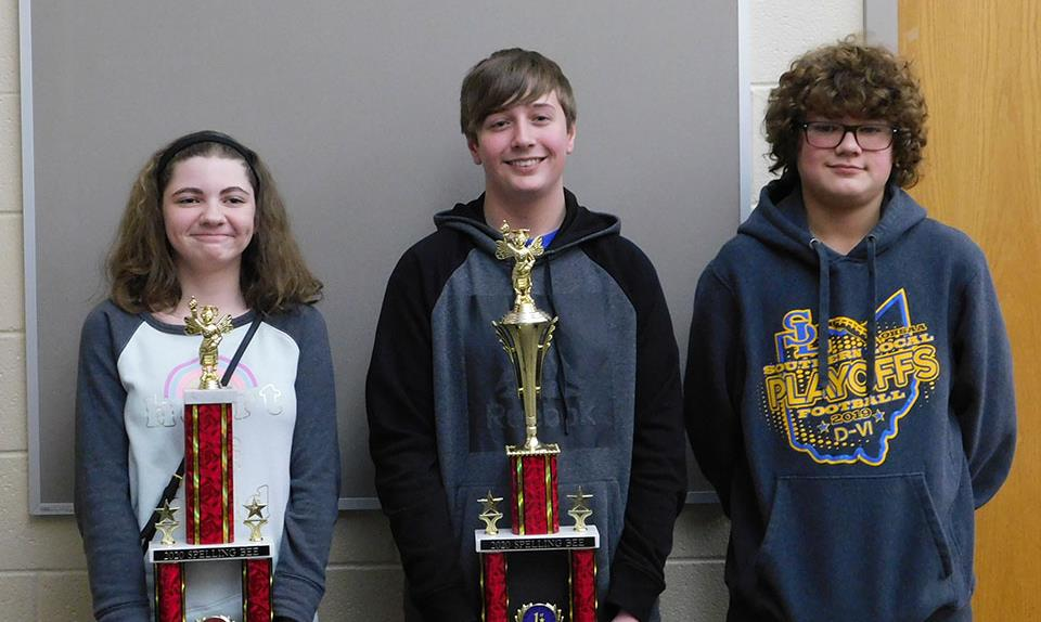Congratulations Jaden M., 1st place, Mystia M., 2nd place, and Aiden B., alternative