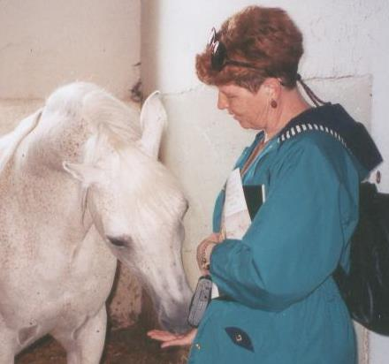 Alison with horse