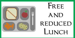 Free and Reduced Lunch Menu