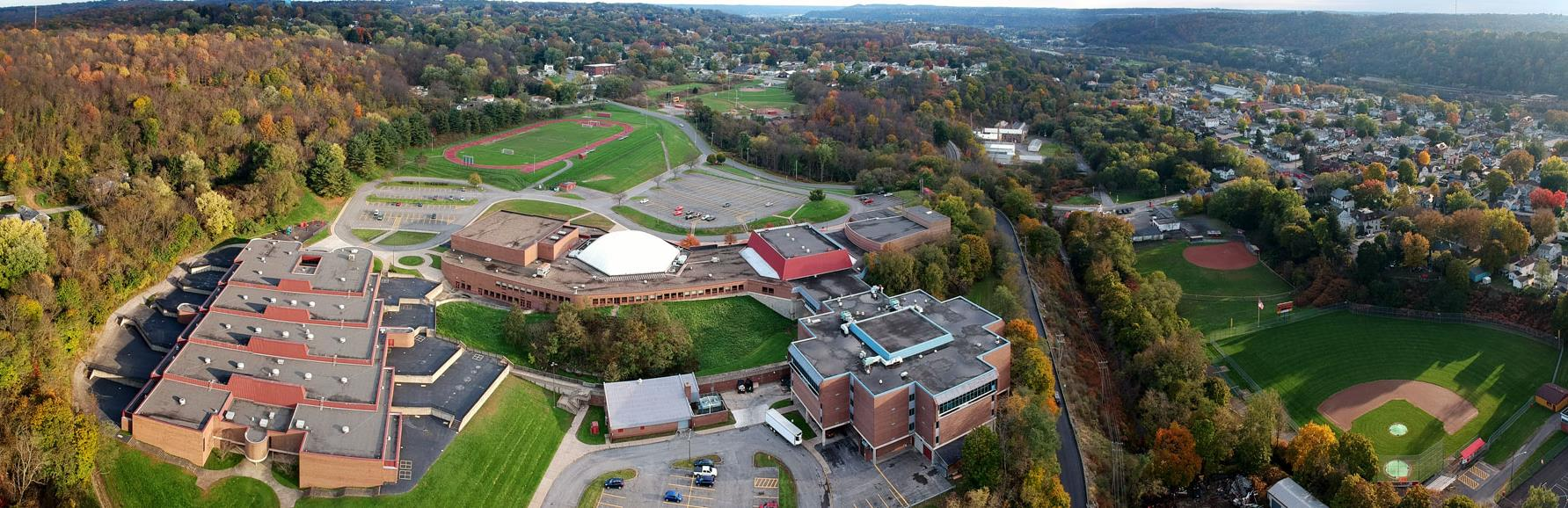 Drone of NB Campus