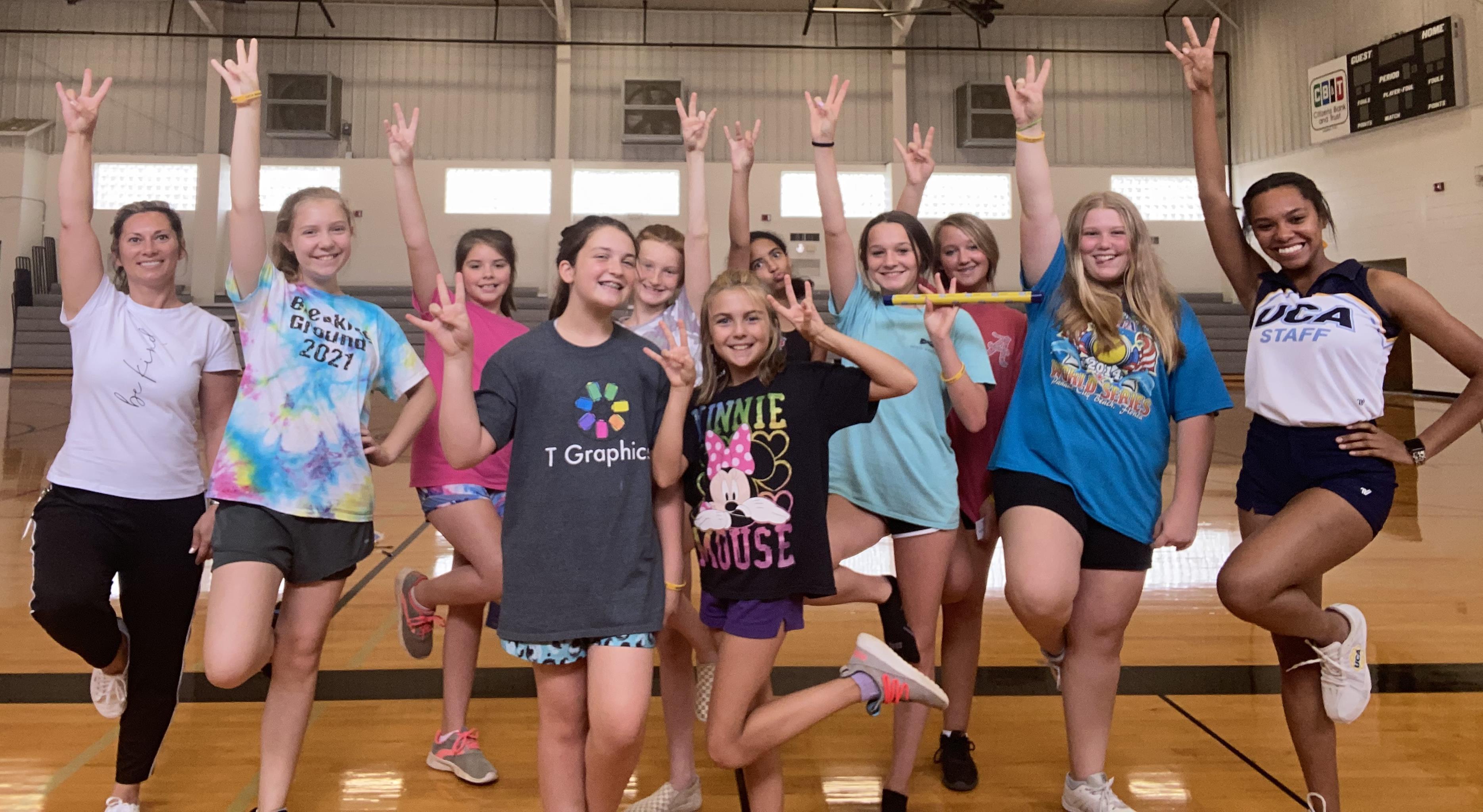 UCA Summer Cheer Camp!