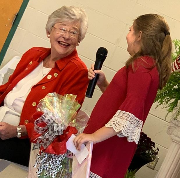 governor ivey with rachel