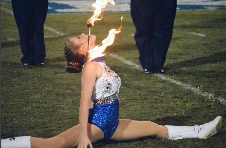 Majorette on Fire!