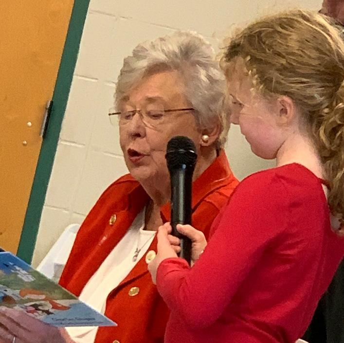 governor ivey with kaitlin