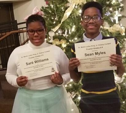 2020 MLK Oratorical  Winners