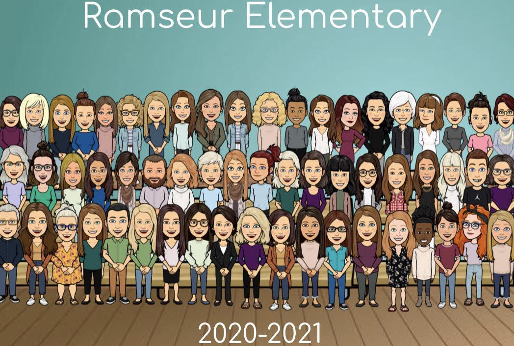 Ramseur Elementary Staff 2020-2021