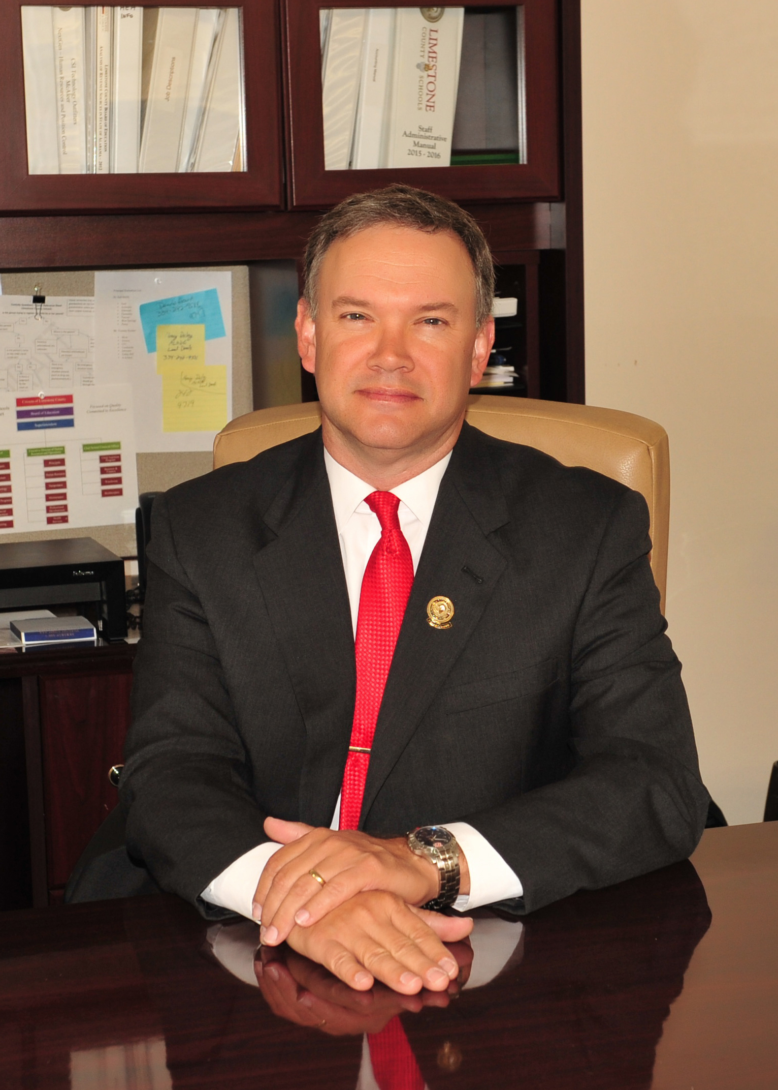 Brad Lewis, Executive Director of Curriculum and Instruction