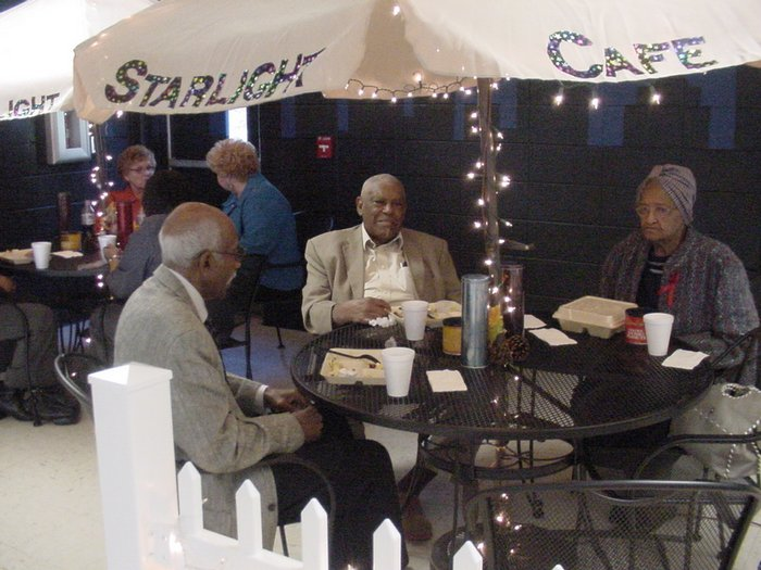 Parents at Starlight Cafe