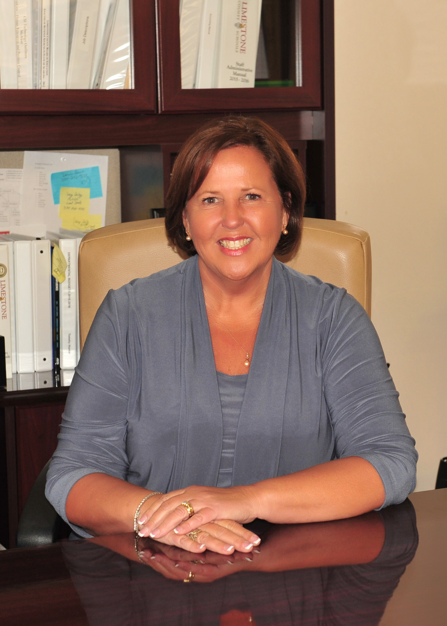 Dr. Jan Tribble, Director of Secondary Curriculum