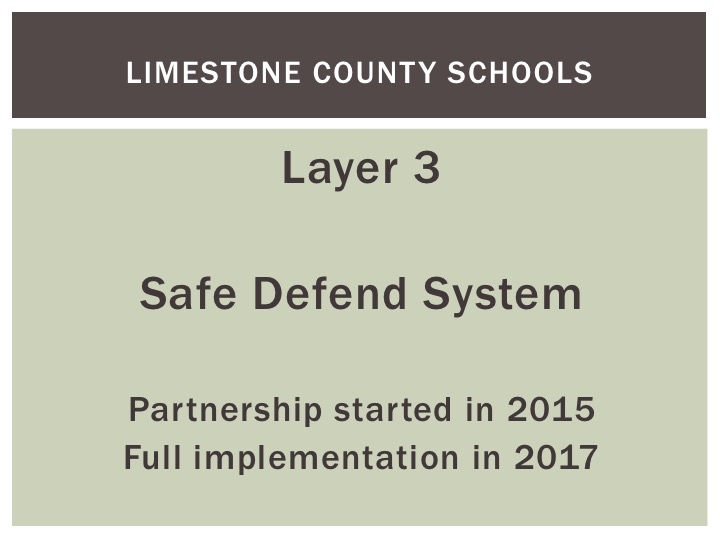 Layer 3 Safe Defend